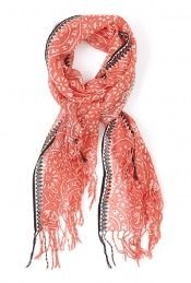 MW Matthew Williamson graphic brocade scarf