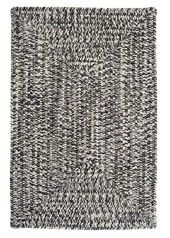 Catalina Blacktop Gray Braided Indoor Outdoor Rug by Colonial Mills Farmhouse Style Rugs, Braided Area Rugs, Braided Rug, Rug Studio, Indoor Outdoor Area Rugs, Home Rugs, Accent Rugs, White Area Rug, White Rug