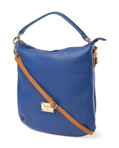 image of Made In Italy Leather Convertible Satchel