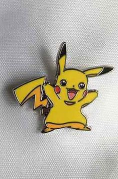 Hey, I found this really awesome Etsy listing at https://www.etsy.com/listing/458149792/pikachu-pin-badge-pokemon-pin-badge