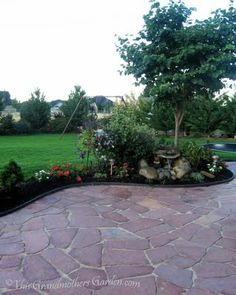 This Grandmother's Garden: You've Got to Have A Dream... patio DIY