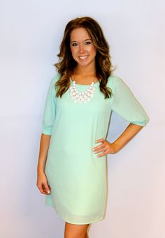 Made For Each Other Dress in Mint | gigi's Boutiquegigi's Boutique