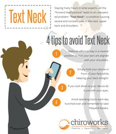 Are you spending much of your time using your smartphone? Experiencing neck pain every now and then? You might have been suffering from Text Neck! This usually occurs to people who sustained from looking down at their phone. It may be inevitable to look at your phone every time, just be aware on the proper posture of your head to avoid experiencing text neck. #chiroworksbydrgarytho #ChiropractorSingapore #ChiropracticSingapore