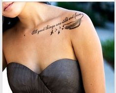 Love this saying different placement, without feather