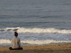 Meditation on the Agonda Beach...