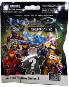 """""""Halo Wars Mega Bloks Series 2 Mystery Mini Figure Pack Random"""" http://localareaads.co.uk/halo-wars-mega-bloks-series-2-mystery-mini-figure-pack-random/"""