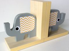 Yellow and gray  by Piros on Etsy