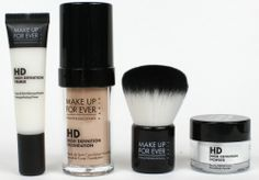 Win a Make Up For Ever HD Complexion Starter Kit in Your Shade! - Review & Giveaway - Perilously Pale
