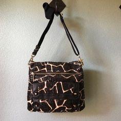 "fabulous CHICO'S crossbody 10"" X 9 1/2""  •Snap closure•Zipper front pocket • 2nd snap front pocket. • inside zip pocket • 1 open pocket. CROSSBODY. Gently worn NO TRADES Chicos Bags Crossbody Bags"