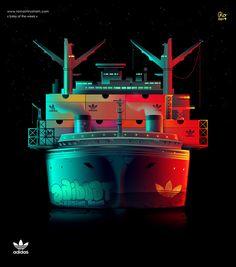 Soles of the Week Series by Romain Trystram   Abduzeedo Design Inspiration