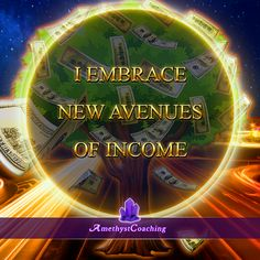 Today's Affirmation: I Embrace New Avenues Of Income <3 #affirmation #coaching It is not enough just to repeat words, while repeating the affirmation, feel and believe that the situation is already real. This will put more energy into the affirmation.