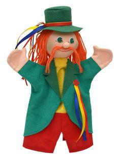 Maňásek na ruku - Vodník Puppets, Theatre, Dolls, Handmade, Craft, Hand Puppets, Baby Dolls, Hand Made, Theatres