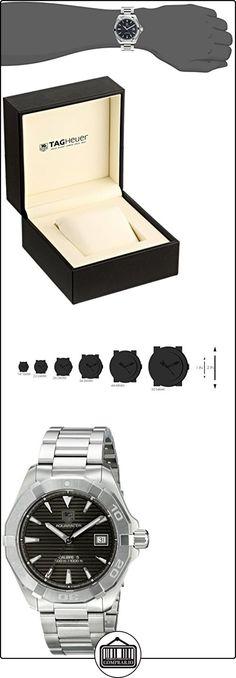 TAG Heuer eysse-reloj de pulsera analógico acero rhöna WAY2113, BA0910  ✿ Relojes para hombre - (Lujo) ✿