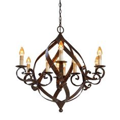 Currey & Company 9528 Currey In A Hurry Gramercy Chandelier, Mayfair - Lighting Universe