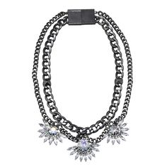 New Anarchy necklace in gunmetal on #NYLONshop: http://shop.nylonmag.com/collections/wednesday/products/anarchy-necklace-gunmetal