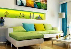 интерьер в зеленом цвете фото - Поиск в Google