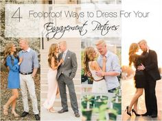 With wedding season rapidly approaching, engagement photos are happing left and right. But there can be so much pressure to make each shot picture perfect, the question of what to wear can seem like a