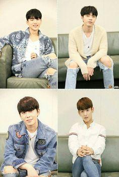 MYNAME Interview Kplaza 170419 insoo, junq, chaejin & seyong♡