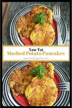 Vegan Mashed Potato Pancakes, gluten free, wfpb, and easy.