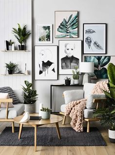 This is an example of Scandinavian Modern, it is super cute. I love the colors of the decor.