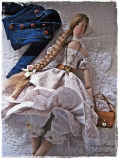 Tilda doll Country girl