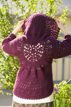 circular jacket crochet pattern | Pattern PDF for Crochet Circle Bolero, Cardigan, Shrug, Sweater with ...