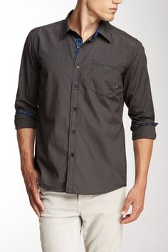 One90One Preece Button Front Shirt