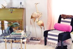 DIY Brass Birds | Large Animal Figurines | Before & After
