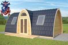 glamping pods wales