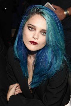 Sky Ferreira's blue mermaid hair: life-giving