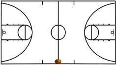 basketball court lines - Google Search