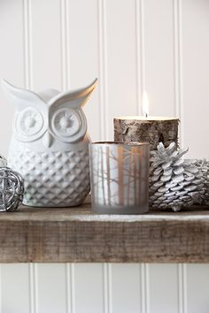 Owls from Bouclair Home, using as bookends in the office Ceramic Owl, Ceramic Decor, Ceramic Mugs, Bouclair Home, Glass Votive Holders, Stylish Home Decor, Home Decor Furniture, Window Coverings, Decorative Objects