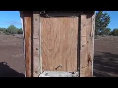 "Home made fridge no power needed! ""Evaporative Fridge"" {video}"