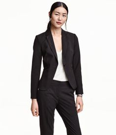 Getailleerde blazer   Zwart   Ladies   H&M NL