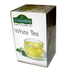 Chamraj White Tea Bags are high quality white teas are picked before the leaf buds have opened, while they are still covered with silky white hairs. This special tea from Nilgiri estate brews to a pale yellow colour and has a slightly sweet flavour.