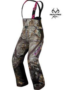 #New #RealtreeXtra #camo Snowmobiling Pants!!