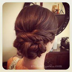 wedding hair. complements of Studio Marie-Pierre Key West Hair & Makeup