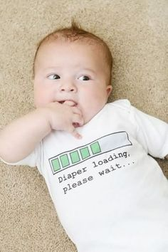 hahaha too funny and cute! lil' nugget!