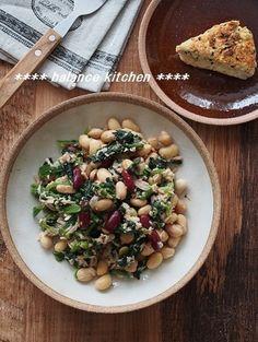 包丁も火も不要!ほうれん草と豆のツナサラダ by 河埜 玲子   レシピサイト「Nadia   ナディア」プロの料理を無料で検索