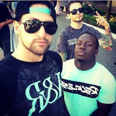Alx James, Jerry Purpdrank, and Curtis Lepore