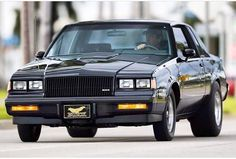 Buick Grand National Gnx, 1987 Buick Grand National, Pontiac Cars, Gm Car, Buick Regal, Car Memes, National Photography, American Muscle Cars, Garage Storage