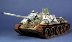 SU-85 SU-85 production started in mid-1943, with the first vehicles reaching their units by August. When the up-gunned T-34-85 medium tank entered mass production in the spring of 1944, so SU-85 production was stopped in late 1944 after 2,050 vehicles had been produced.  Though a capable weapon, it was found that its 85 mm weapon was not adequate to penetrate the armour of the larger German armoured fighting vehicles