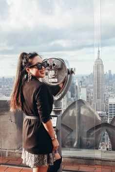 { 7th blogiversary at Top of the Rock #nyc }