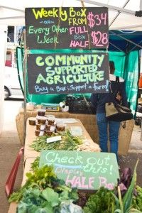 Community Supported Agriculture #organic