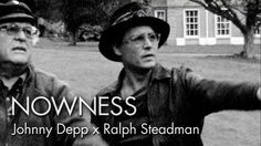 Johnny Depp visits the rural English home of his friend, the British cartoonist Ralph Steadman. This ink-splattered encounter forms part of filmmaker Charlie Paul's illuminating feature-length documentary on the artist, which Depp also narrates on NOWNESS