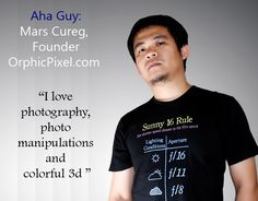 Aha People: Mars Cureg, founder, OrphicPixel.com