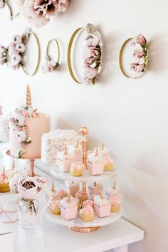 Quinceanera Party Planning – 5 Secrets For Having The Best Mexican Birthday Party Gold Birthday Party, 15th Birthday, Gold Party, Unicorn Birthday Parties, Unicorn Party Invites, Birthday Ideas, Sweet 16 Parties, Pink Parties, Rose Gold Theme
