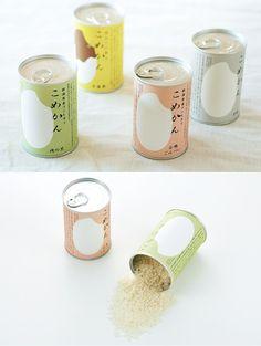 KOMECAN rice packaging