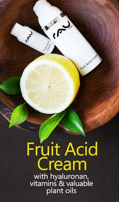 New RAU Cosmetics Fruit Acid Cream helps to reduce hornification & impurities! http://www.rau-cosmetics.de/shop/en/facial-care/face-creams/252/rau-fruit-acid-cream-50-ml-with-different-fruit-acids-hyaluronan-vitamins-und-valuable-plant-oils?sPartner=social