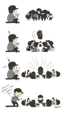 team b fanart